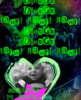 DINOGO GO! GLOW! www.danielbrummitt.com