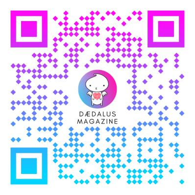 QR Code Daedalus Magazine